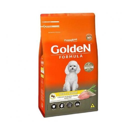 Ração Golden Cães Adultos Raças Pequenas Mini Bits Peru & Arroz 10,1kg