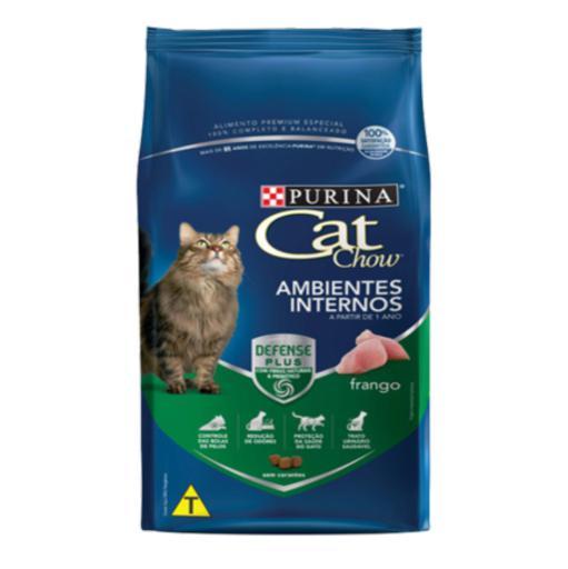 CAT CHOW ADULTOS AMBIENTES INTERNOS FRANGO 10,1KG