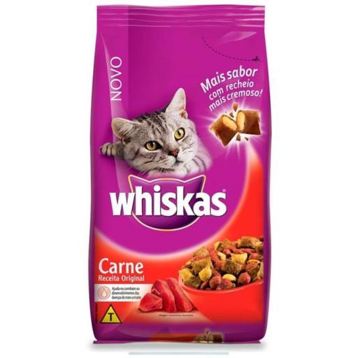 Ração Whiskas Carne 3kg