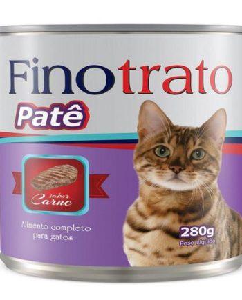 FINOTRATO GATOS ADULTOS CARNE LATA 280GR