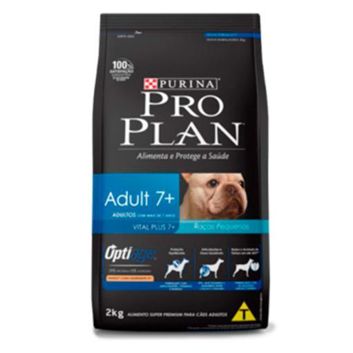 Ração Proplan Cães Adultos 7+ Raças Pequenas 1Kg