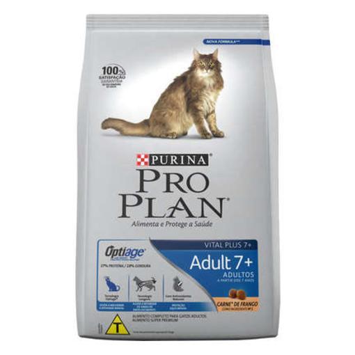 Ração Proplan Gatos Adultos 7+ 1,5Kg