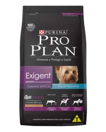 Ração Proplan Exigent Cães Adultos Raças Pequenas 1Kg