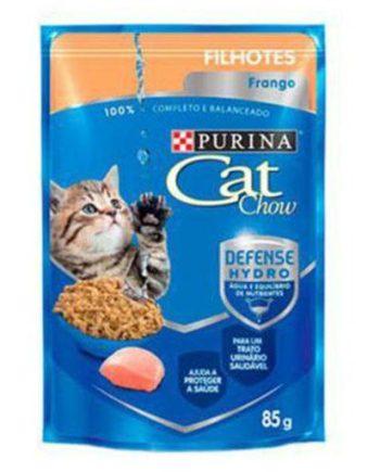 CAT CHOW SACHE FILHOTES FRANGO 85GR