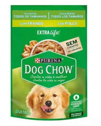 DOG CHOW FILHOTES FRANGO E ARROZ 100G