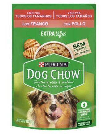 DOG CHOW SACHE AD FRANGO 100GR