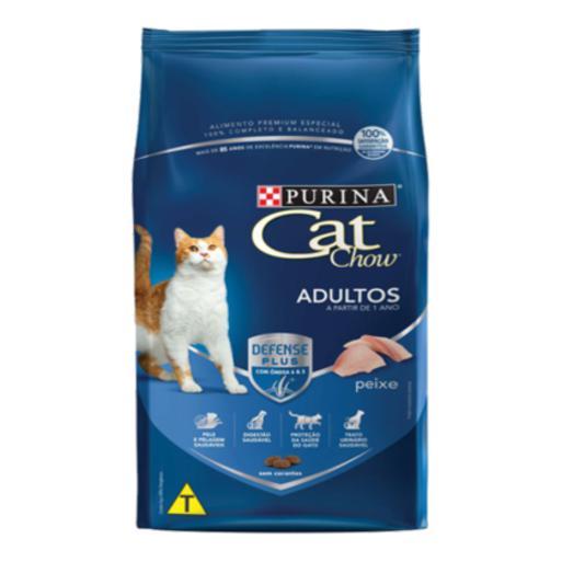 CAT CHOW ADULTOS PEIXE 1,0KG