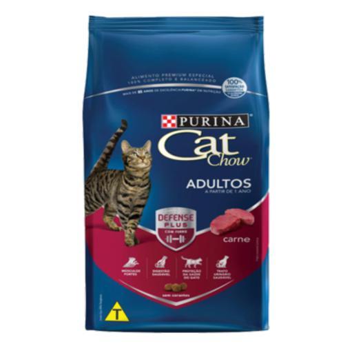 CAT CHOW ADULTOS CARNE 1,0KG