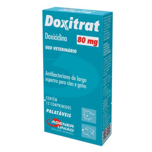 DOXITRAT 80MG 12 COMP