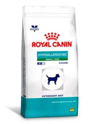 Ração Cães Royal Canine Hypoallergenic Small 2kg