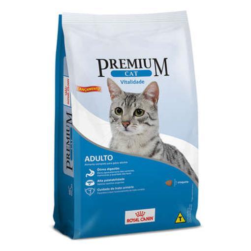 CAT PREMIUM VITALIDADE (C/OLEO SALMÃO) 1KG