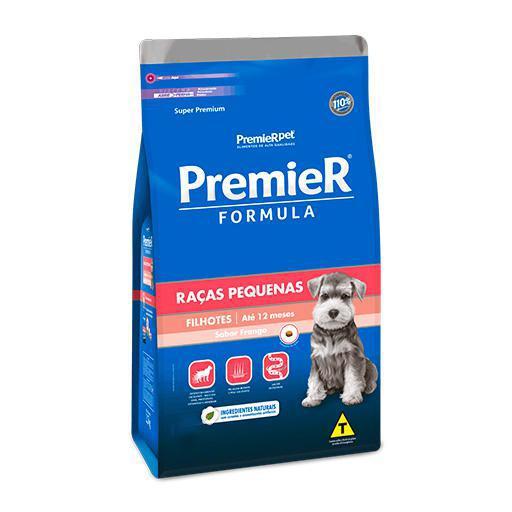 Ração Premier Fórmula Cães Filhotes Raças Pequenas Frango 1kg