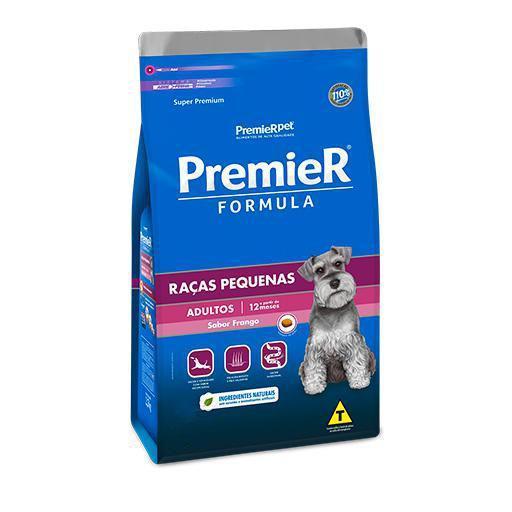 Ração Premier Fórmula Cães Adultos Raças Pequenas Frango 1kg