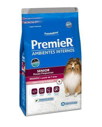 Ração Premier Cães Adultos Ambiente Interno Sênior 12kg
