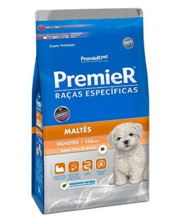 Ração Premier Maltês Filhote Frango 2,5kg
