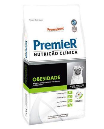 Premier Nutrição Clínica Cães Adultos Obesos Raças Pequenas 2kg