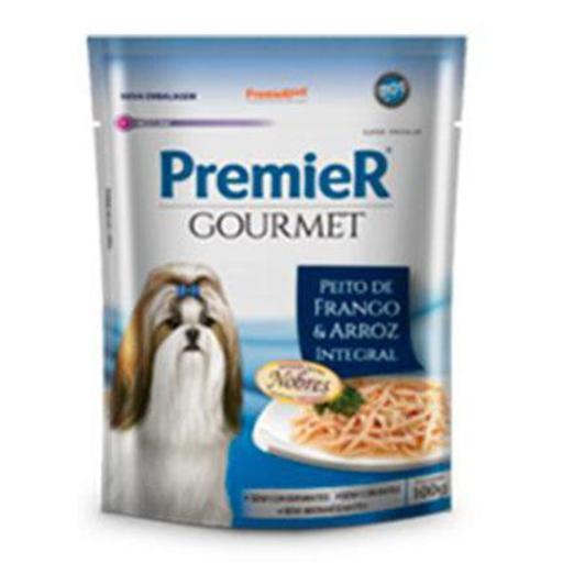Premier Gourmet Cães Adultos Peito de Frango & Arroz Integral 100grs