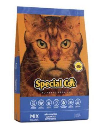 Ração Especial Cat Adulto Mix 3Kg