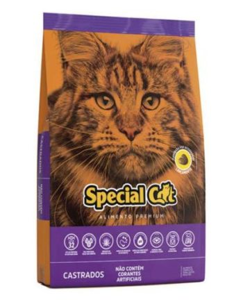 Ração Special Cat Castrados 1Kg