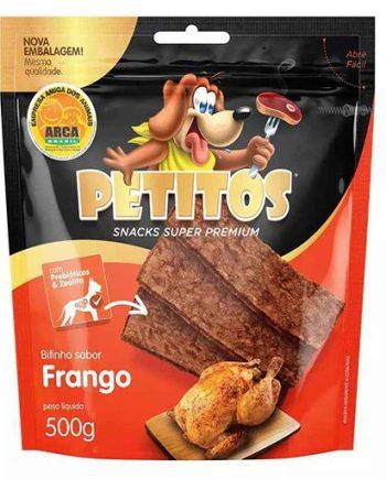 PETITOS BIFINHO FRANGO 500GRS