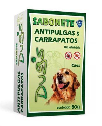 SABONETE DUGS ANTIPULGAS& CARRAPADOS 80GR