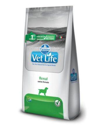 Ração Vet Life Canine Renal 2Kg