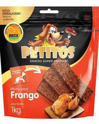 PETITOS BIFINHO FRANGO 1KG