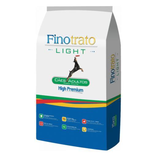 RAÇÃO FINOTRATO LIGHT CÃES ADULTOS 3+1KG