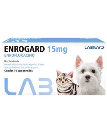 ENROGARD 15MG 10 COMP