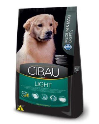 RAÇÃO CIBAU LIGHT MEDIUM & MAXI BREEDS 12KG