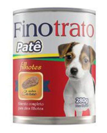 FINOTRATO CÃES FILHOTES CARNE LATA 280GR