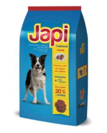 Ração Japi Tradicional Cães Adultos Carne 10,1Kg