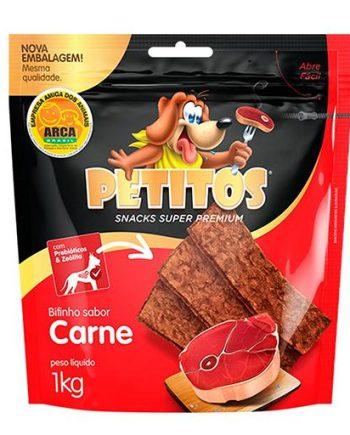 PETITOS BIFINHO CARNE DEFUMADA 1KG