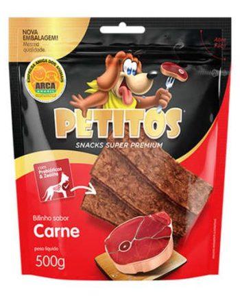 PETITOS BIFINHO CARNE DEFUMADA 500GRS