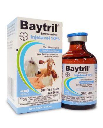BAYTRIL INJETAVEL 10% 50ML