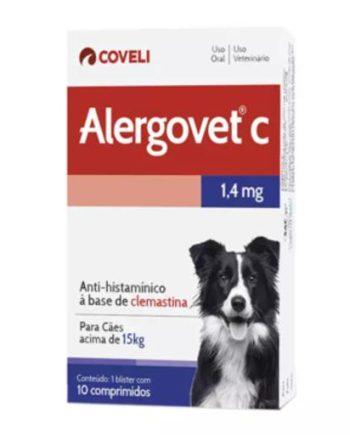 ALERGOVET C 1,4MG C/10 COMP.