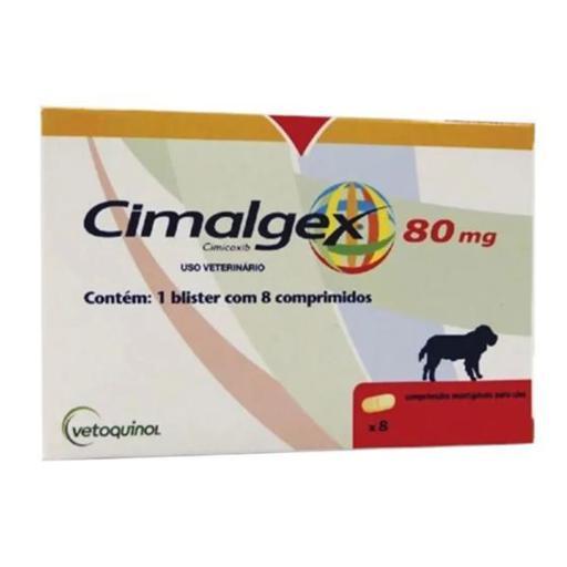 CIMALGEX 80MG C/8 COMPR