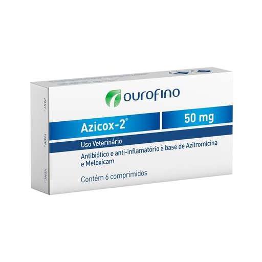 AZICOX-2 50MG 6 COMPR