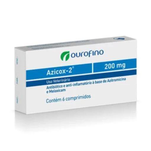 AZICOX-2 200MG 6 COMPR