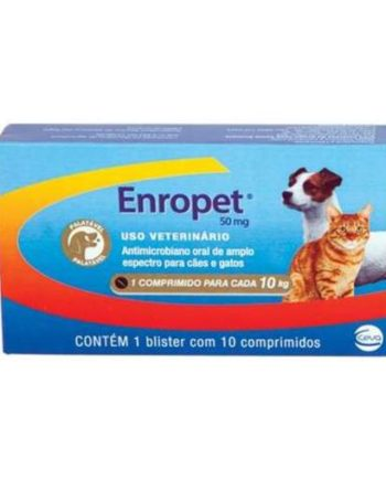 ENROPET 50MG C/10 COMP.PALATAVEL