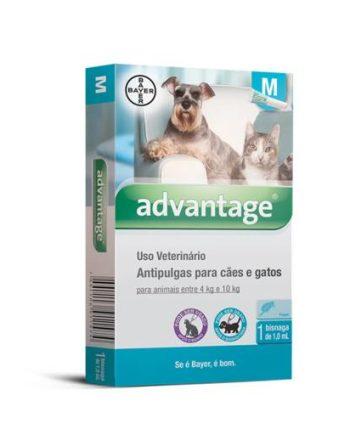 ADVANTAGE CAES 1,0ML 4 - 10KG