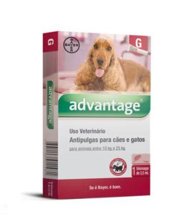 ADVANTAGE CAES 2,5ML 10 - 25KG