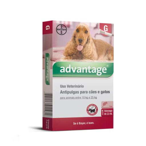 ADVANTAGE CAES 2,5ML 10 - 25KG