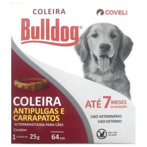 COLEIRA ANTIPULGAS BULLDOG 25G