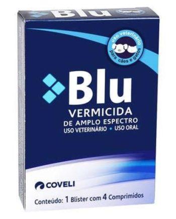 BLU VERMICIDA 4 COMPRIMIDOS