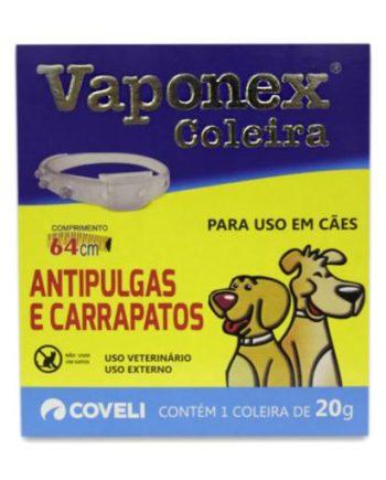 COLEIRA ANTIPULGAS E CARRAPATOS VAPONEX 2OG