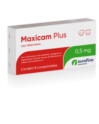 MAXICAM PLUS 0,5MG C/8COMP
