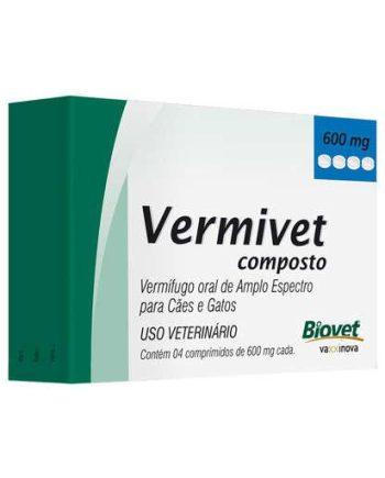 VERMIVET COMPOSTO C/4 COMP