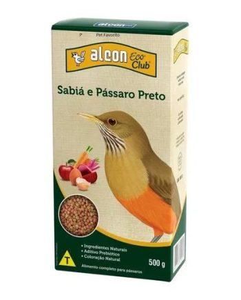 ALCON CLUB ECO SABIA E PASSARO PRETO 500GR