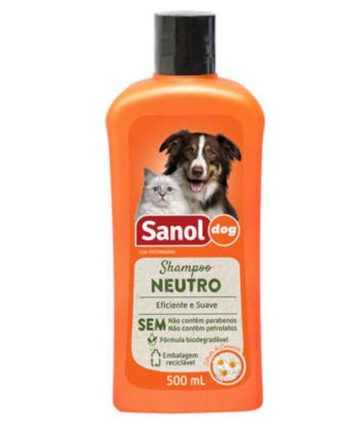 SHAMPOO SANOL DOG NEUTRO 500ML
